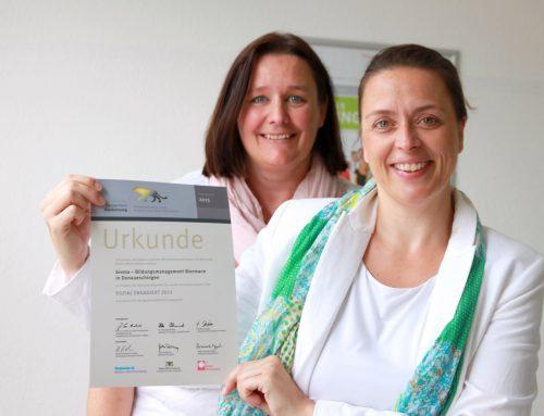 """biema wird bereits zum 2. Mal mit dem Sozialpreis """"Lea"""" ausgezeichnet"""