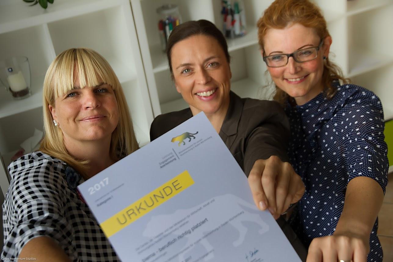 Mittelstandspreis für soziale Verantwortung in Baden-Württemberg