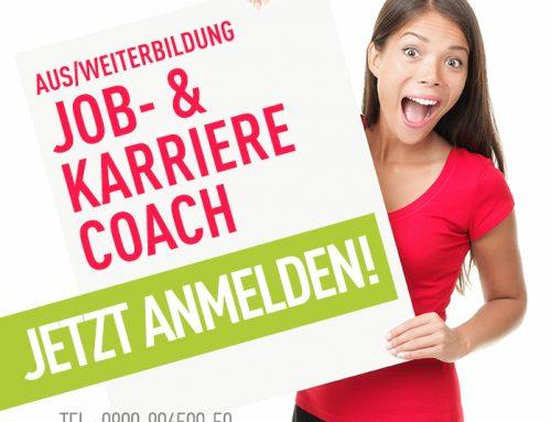 Noch Plätze frei: Aus- Weiterbildung zum Job- und Karrierecoach
