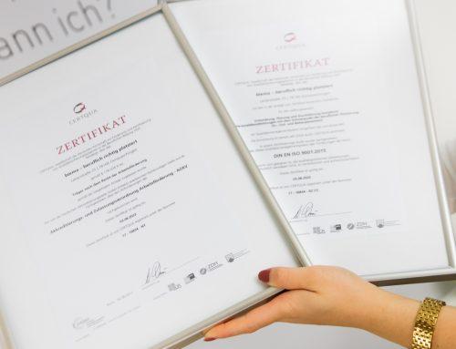 biema ist als einer der ersten Bildungsträger nach ISO 2015 zertifiziert