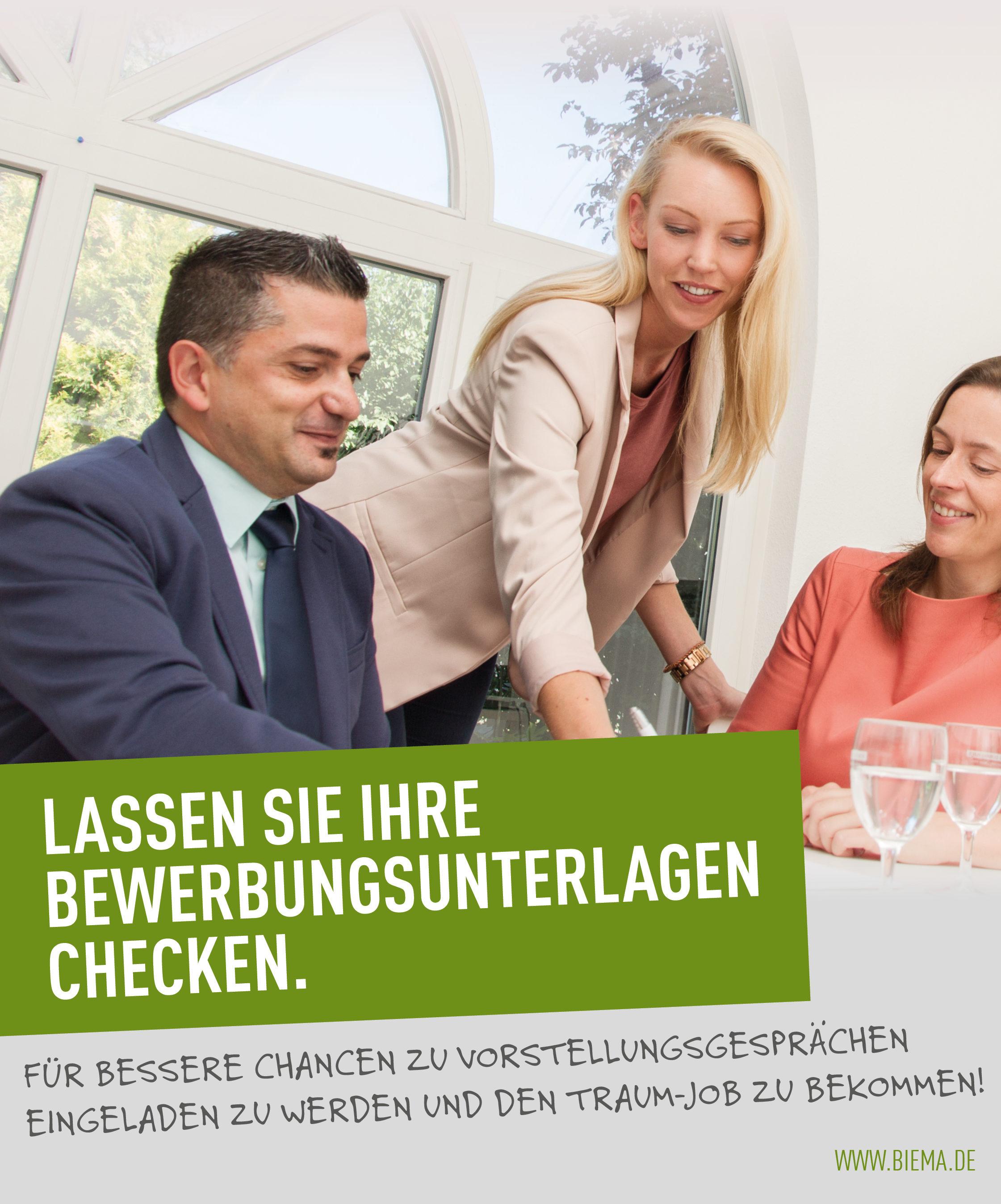 Bewerbungsunterlagen-Check