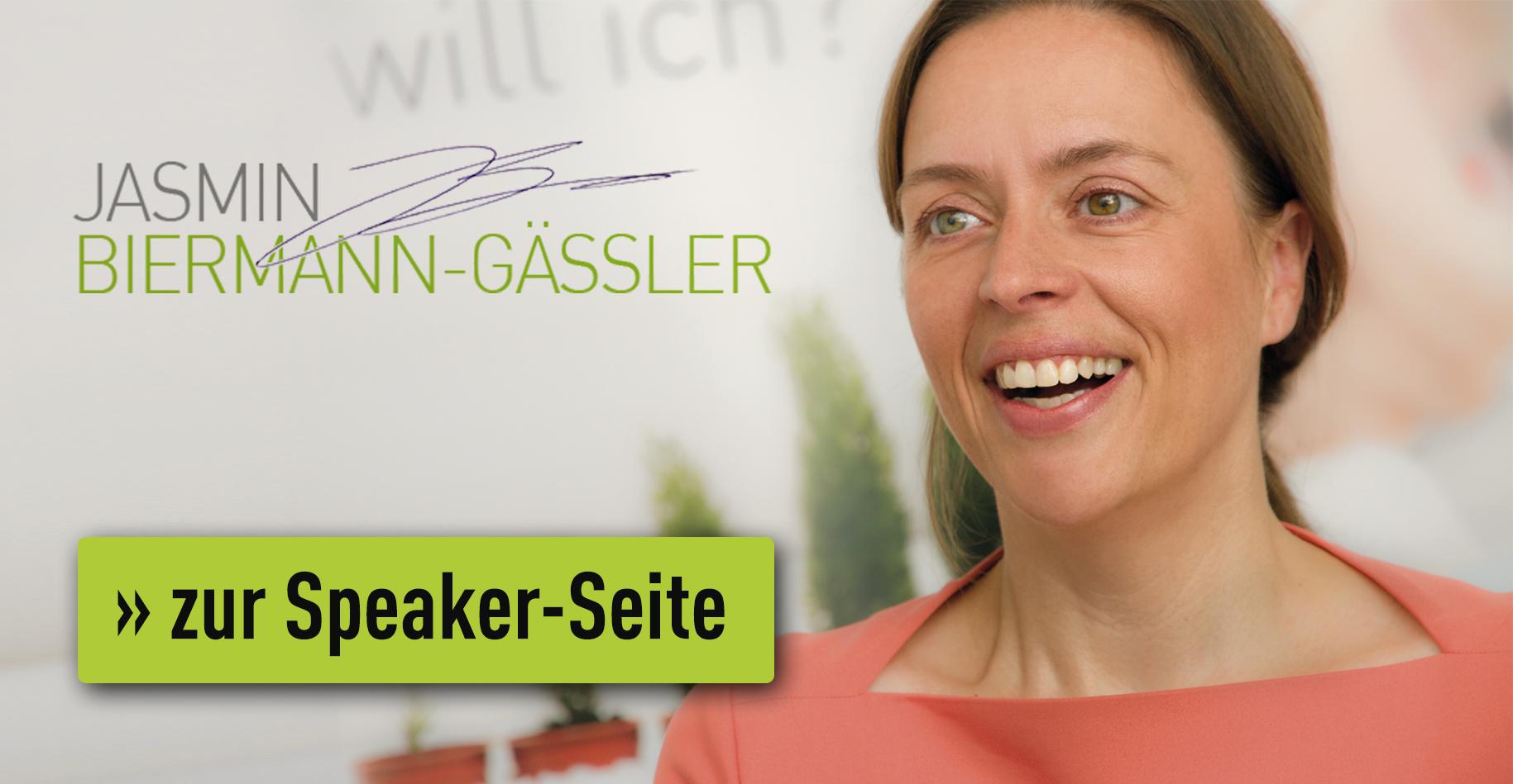 Jasmin Biermann-Gässler - Speaker-Profil
