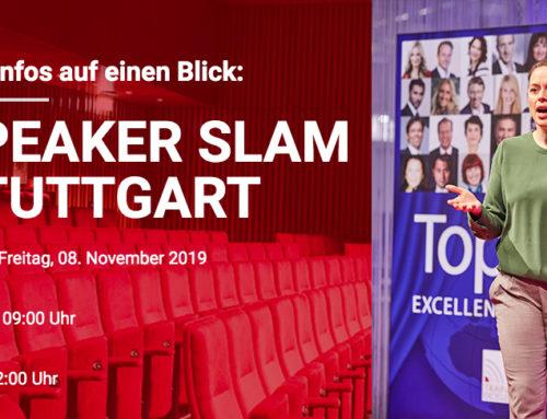 08.11.2019 – Speaker Slam Stuttgart