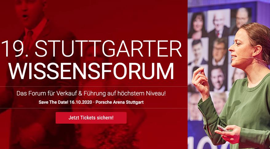 19. Stuttgarter Wissensforum