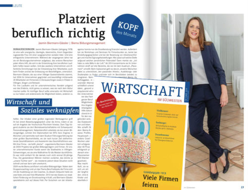 IHK Magazin: Kopf des Monats – Jasmin Biermann-Gässler