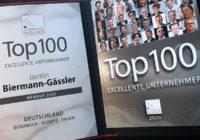 Auszeichnung: Top 100 Unternehmer Excellence