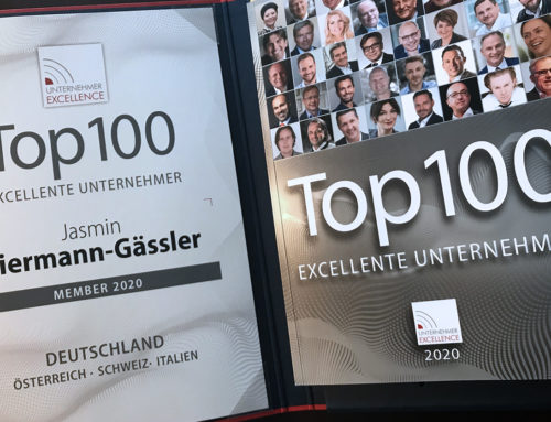 """Auszeichnung """"Top 100 Unternehmer Excellence"""""""