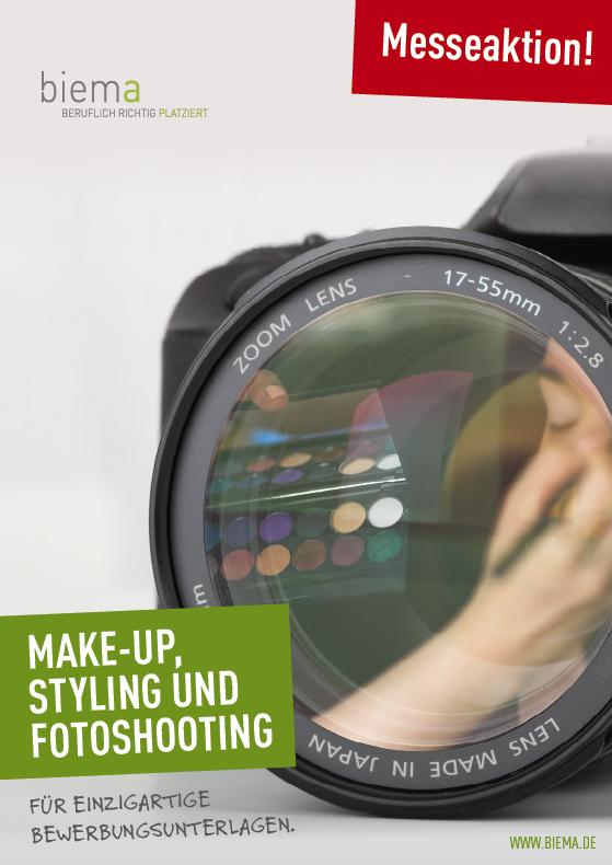 Make-Up. Styling und Fotoshooting