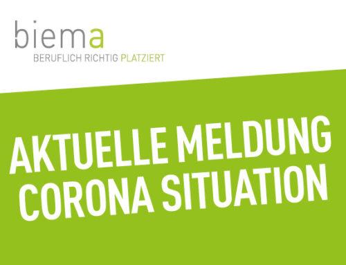 Aktuelle Bekanntmachung zur Corona Situation