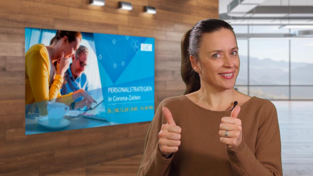 Jasmin Biermann-Gässler Vortrag GVO Event