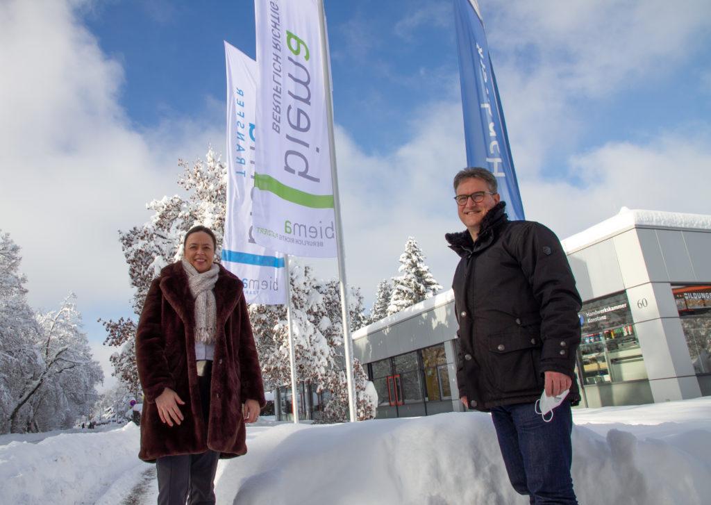 Georg Hiltner und Jasmin Biermann-Gässler