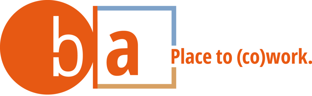 b a - place to (co)work Logo
